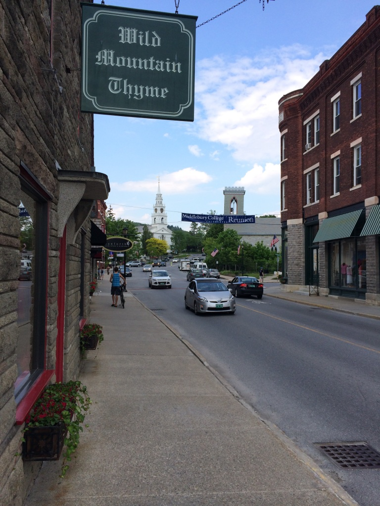 Part of downtown Middlebury