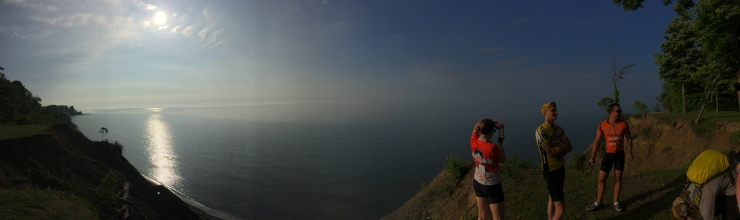 First glimpses of Lake Erie on my birthday