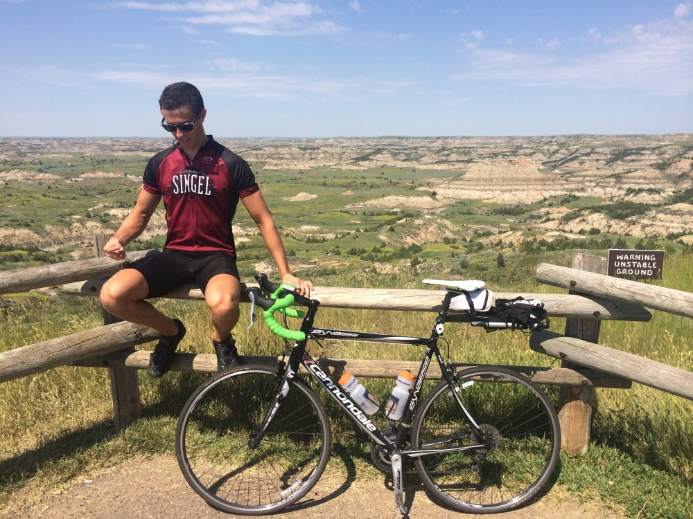 Which is more beautiful: the brand-new Hardywood jersey, or the Badlands?