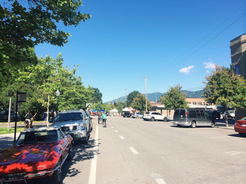 Bright and sunny skies in Sandpoint!