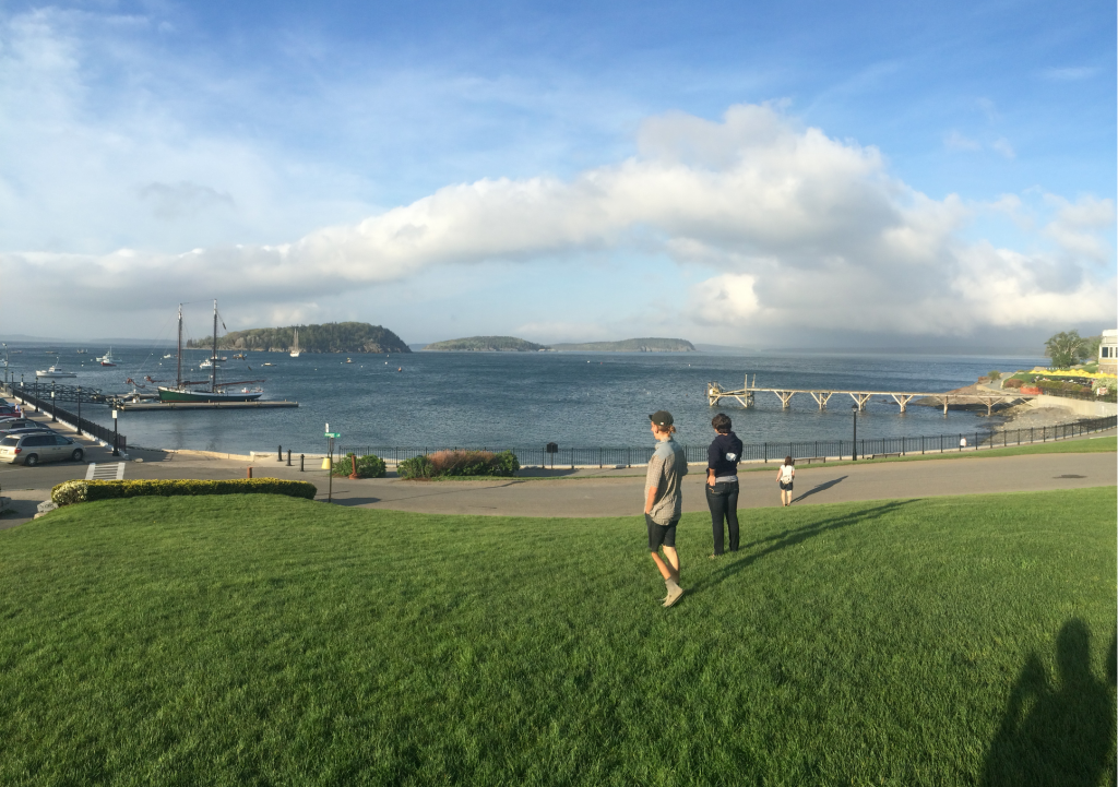 Turns out Bar Harbor is sunny sometimes!