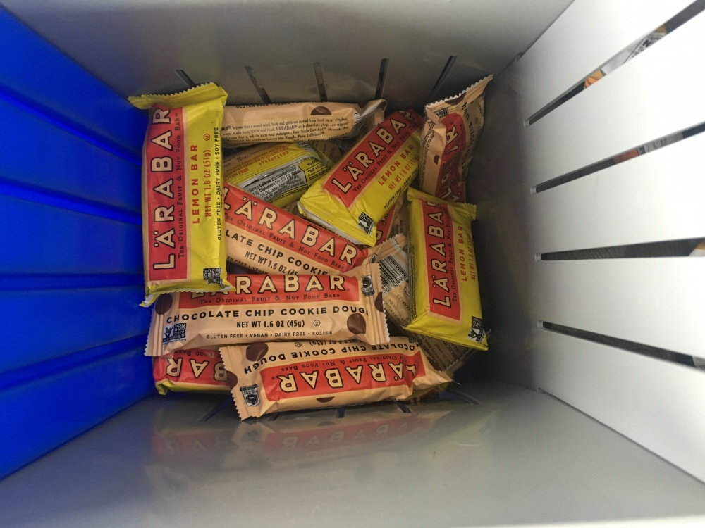 I've broken up with Clif Bars and moved onto Larabars. Sorry, Clif Bars, I would say it's not you, it's me, but I'd be lying. Larabars are just way tastier.