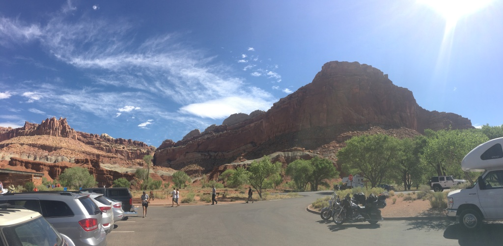 Capitol Reef National Park, considered one of the best places in the country to stargaze.